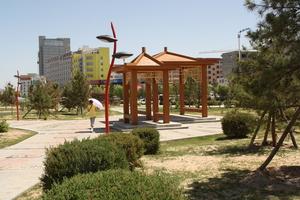 长城北路绿地景观工程