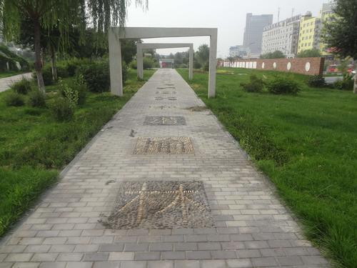 榆林市二里半广场及景观工程